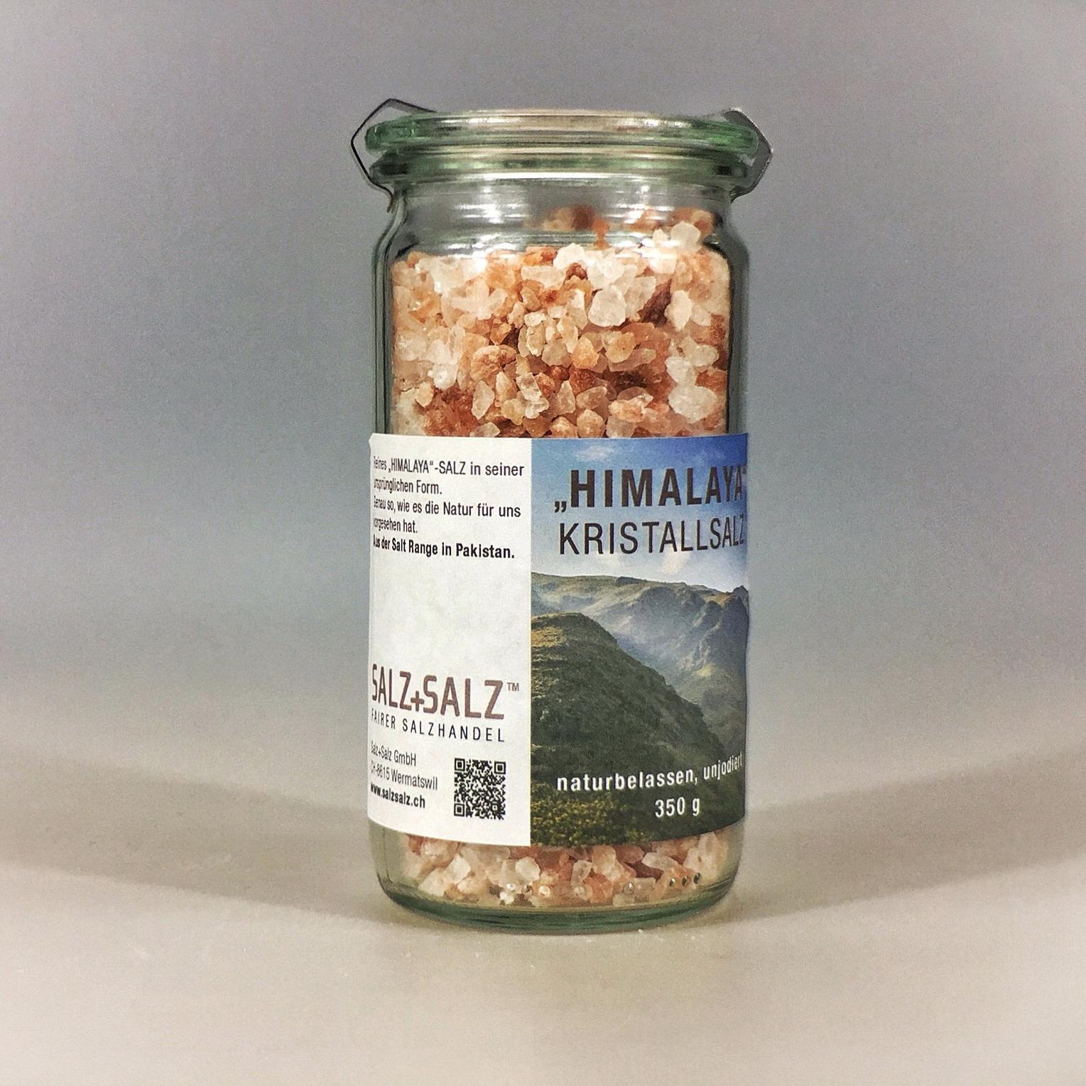 Himalayasalz grob gemahlen im Glas 350 g