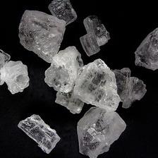 Halit Salz Kristalle glasklar