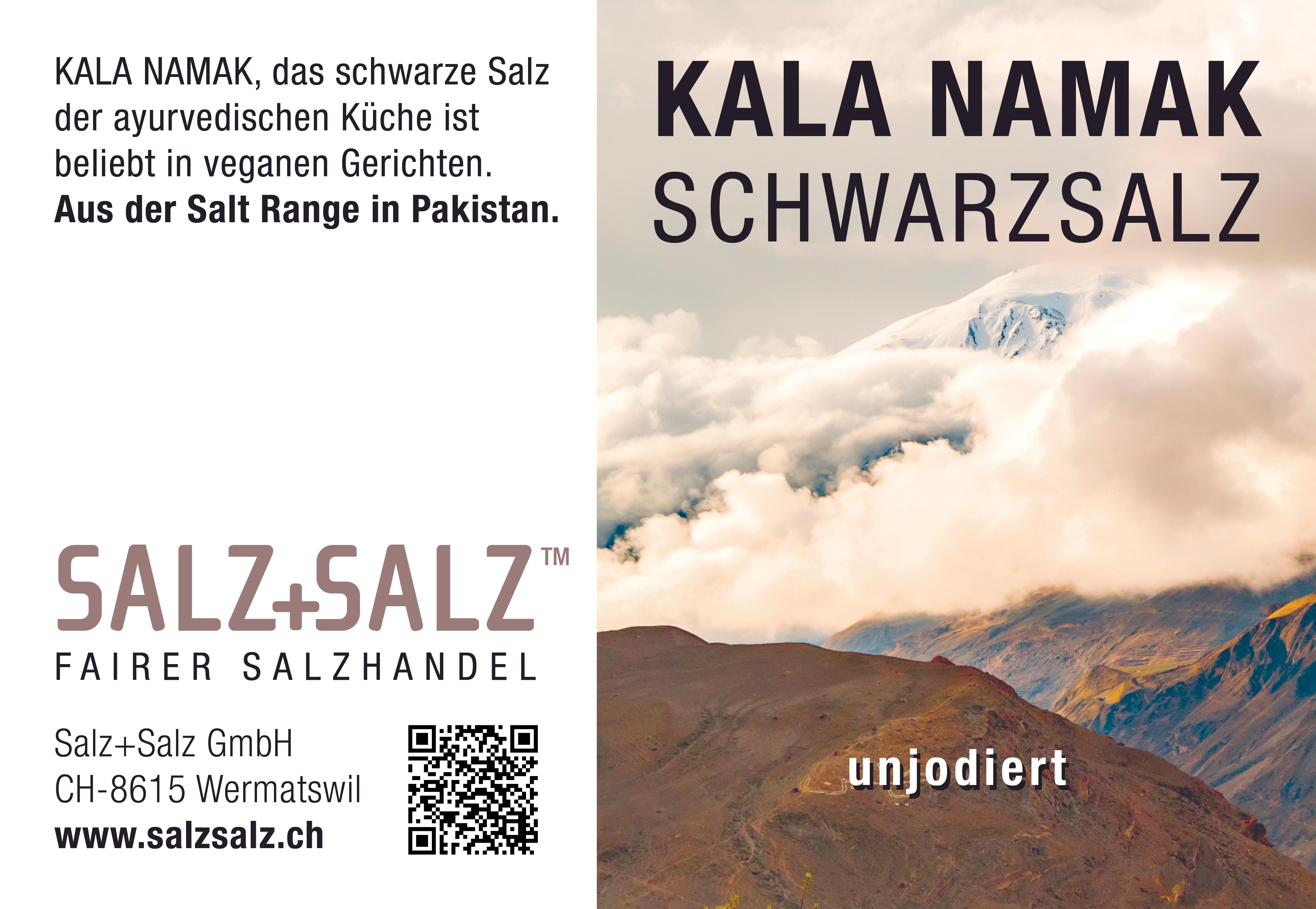 Etikette Kala Namak Salz