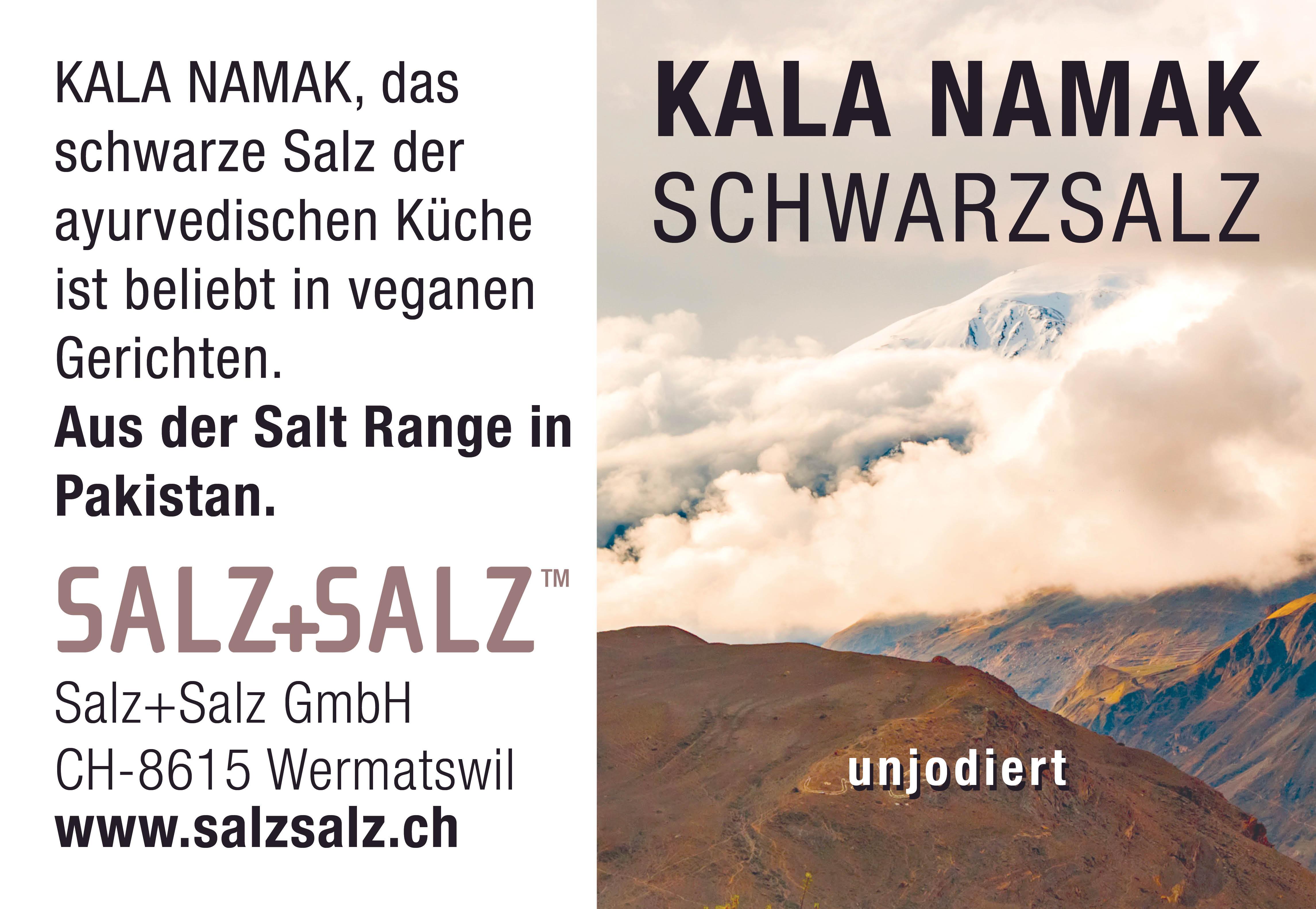 Etikette Kala Namak Salzmühle