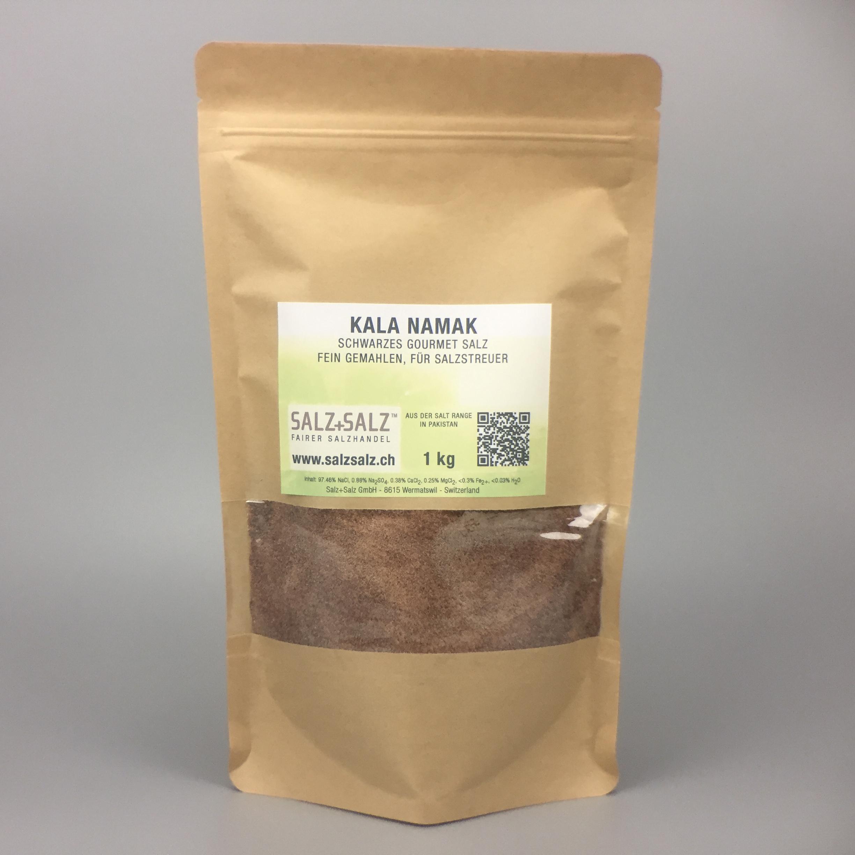 Kala Namak schwarzes Salz fein gemahlen