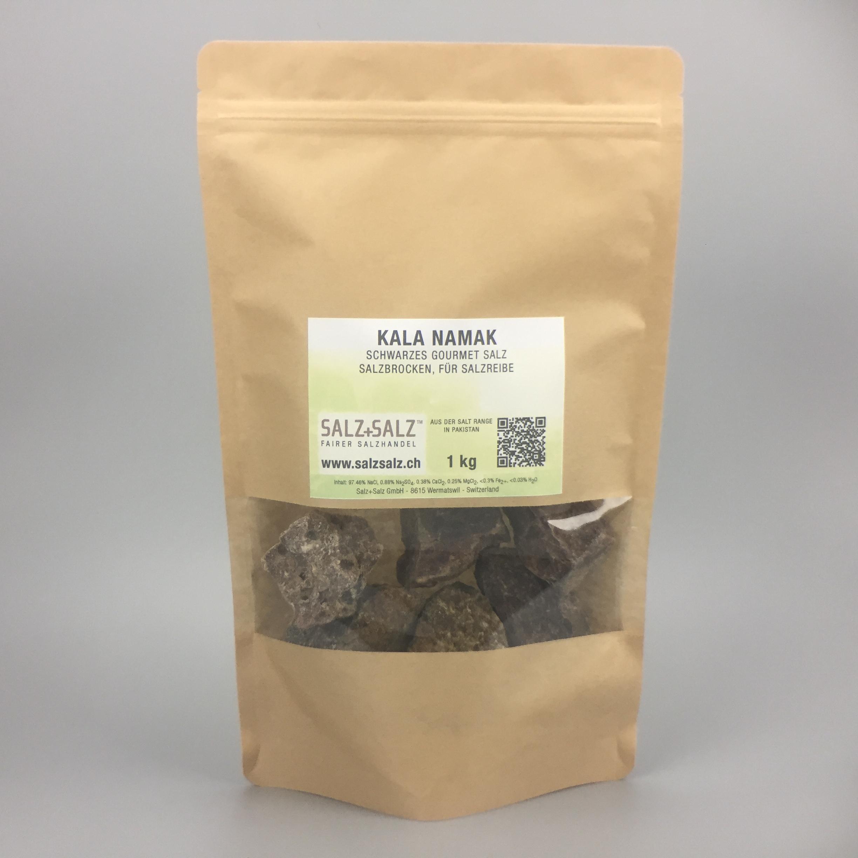 Kala Namak schwarzes Salz Kristalle 1kg