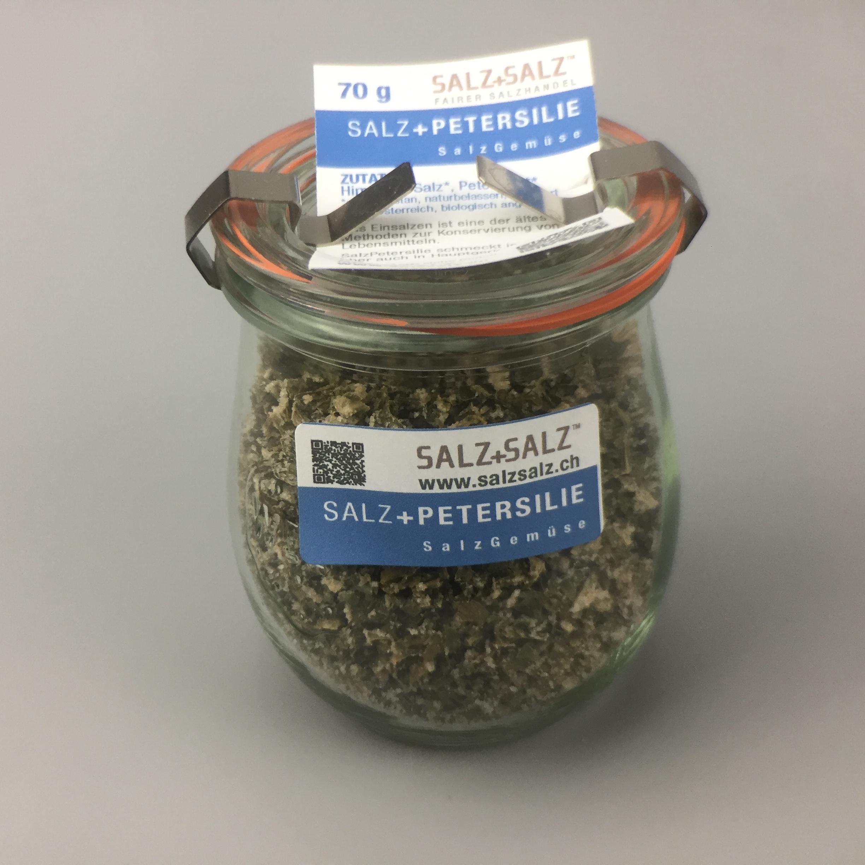 Salzgemüse Petersilie im Glas 70g