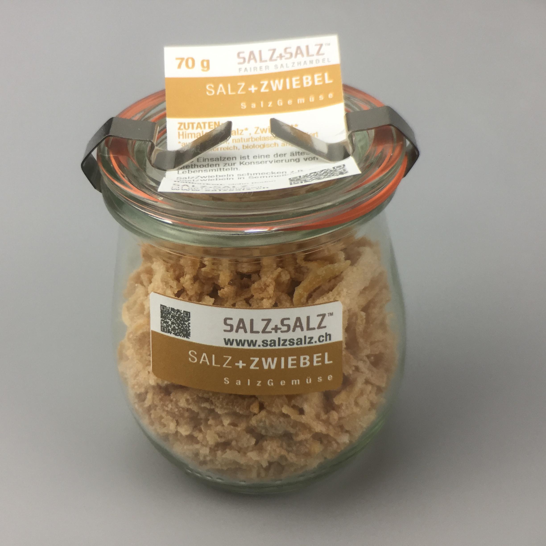 Salzgemüse Zwiebeln im Glas 70g