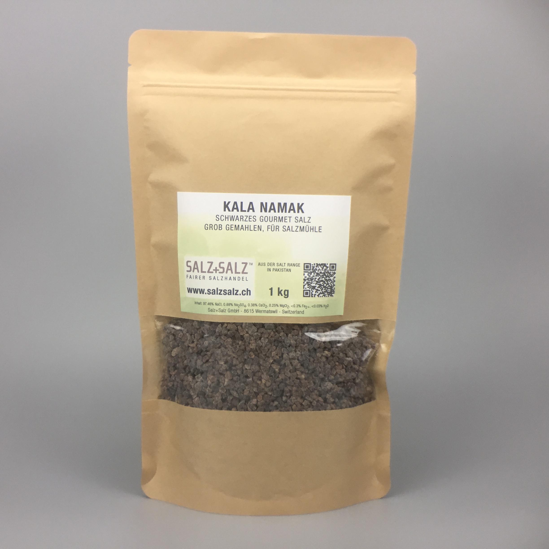 Kala Namak schwarzes Salz grob gemahlen 1kg